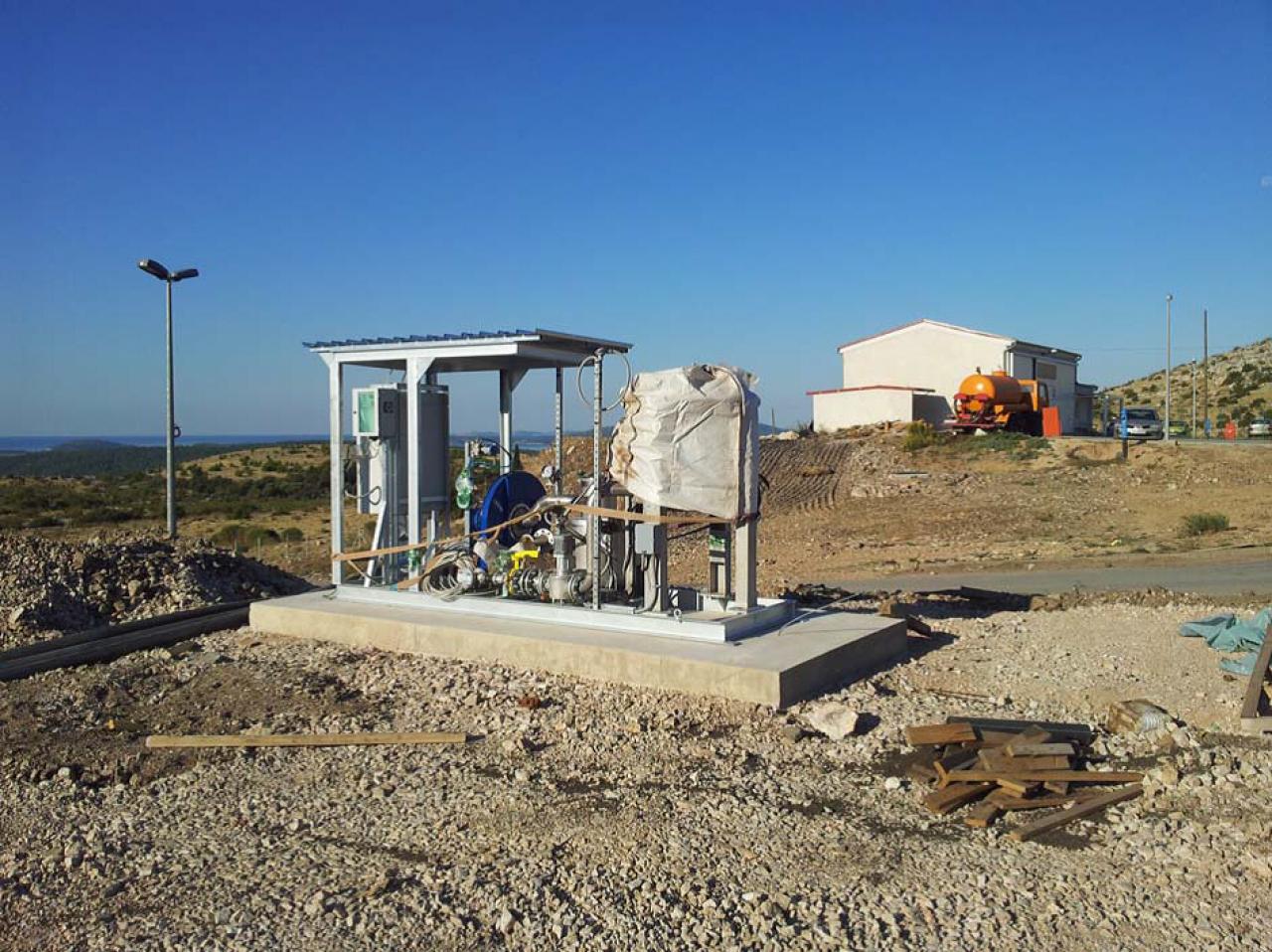 Uspostava cjelovitog i održivog sustava gospodarenja otpadom na području Šibensko-kninske županije – Županijski centar za gospodarenje otpadom Bikarac II faza - provedba
